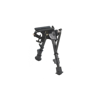 """Picture of HARRIS BIPOD BRM 6-9"""" LEG NOTCHED. ROTATE BASE"""