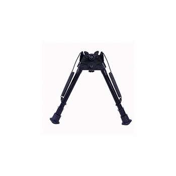 """Picture of HARRIS BIPOD SLM 9-13"""" LEG NOTCHED. ROTATE BASE"""
