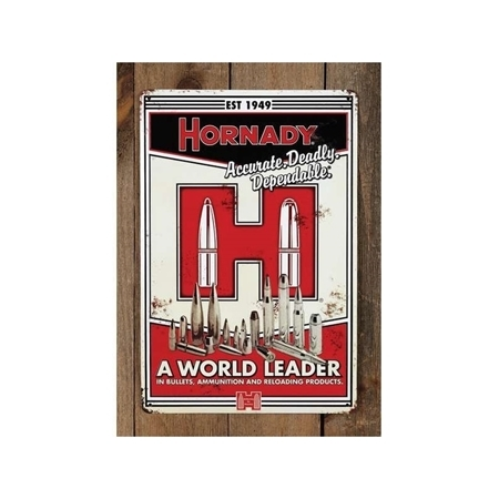 Picture of HORNADY TIN SIGN VINTAGE