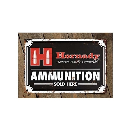 Picture of HORNADY TIN SIGN AMMO