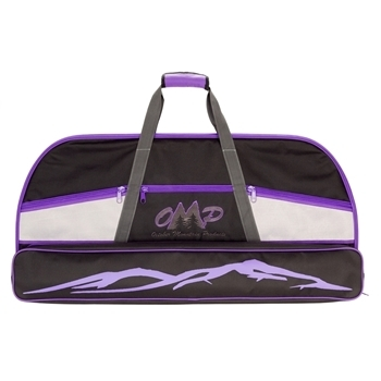 """Picture of OMP BOW CASE 36"""" BLACK/PURPLE"""