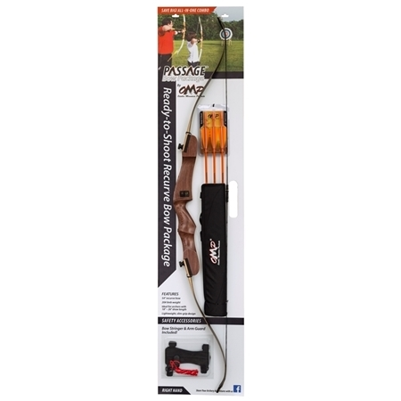 "Picture of OMP PASAGE RECURVE BOW 54""-20LB R/HAND"