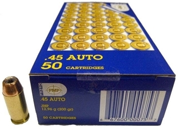 Picture of PMP 45ACP 200GR H\POINT