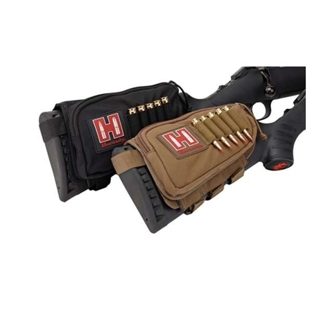 Picture of HORNADY CHEEKPIECE AMMO POUCH TAN LH