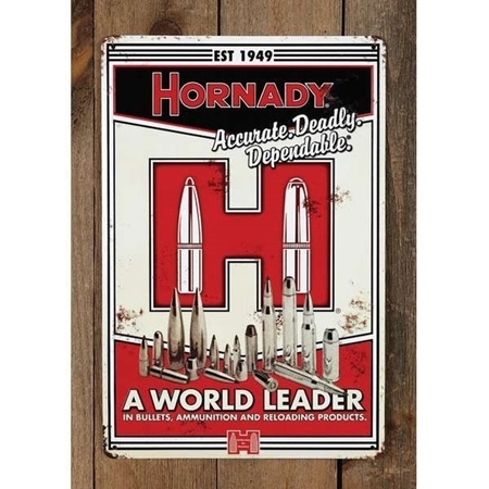 Picture of HORNADY TIN SIGN H