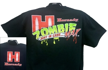 Picture of HORNADY T-SHIRT YOUTH  ZOMBIE S/M/L