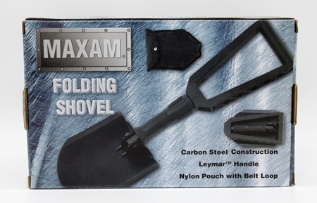 Picture of MAXAM FOLDING SHOVEL W/POUCH