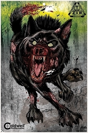 Picture of CALDWELL ZOMBIE TARGET WOLF