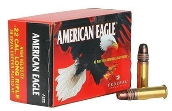 Picture of FEDERAL 22LR AMERICAN EAGLE H/VEL.