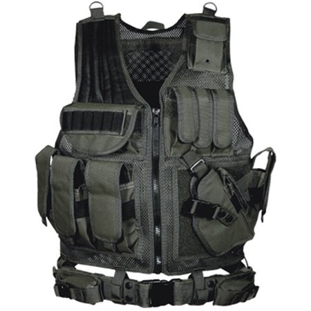Picture of UTG TACTICAL VEST MOD.547 BLACK L/HAND