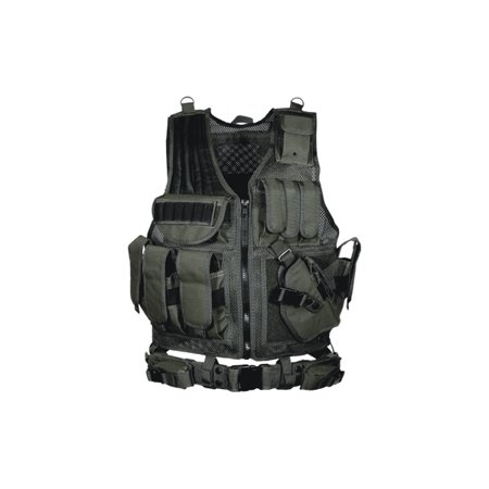 Picture of UTG TACTICAL VEST MOD.547 BLACK R/HAND