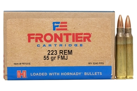 Picture of HORNADY 223 REM-55GR FMJ FRONTIER