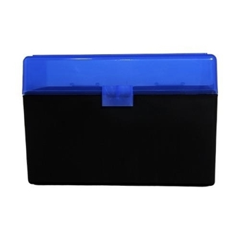 Picture of BERRYS AMMO BOX LARGE RIFLE 50RD BLUE