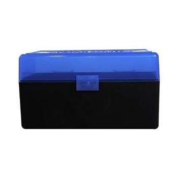 Picture of BERRYS AMMO BOX MED.RIFLE 50RD BLUE