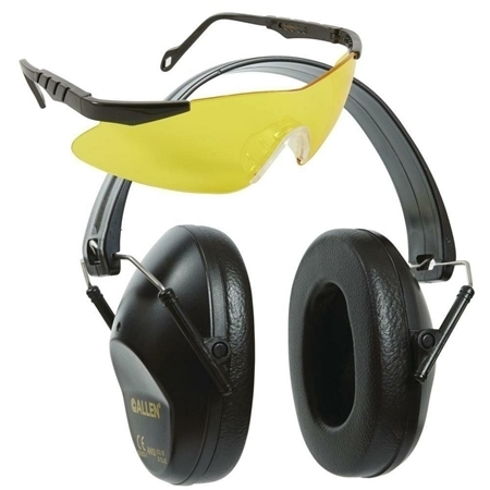Picture of ALLEN REACTION GLASSES & EARMUFFS GREY